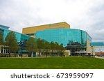 cleveland  ohio   november 2 ... | Shutterstock . vector #673959097