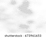 abstract halftone dotted... | Shutterstock .eps vector #673961653