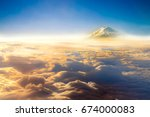 Clouds Sky Skyscape And Fuji...