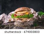 big tasty fresh hawaii sandwich ...