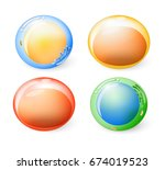 collection of cells for your... | Shutterstock .eps vector #674019523