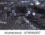 spangle  sequin pailette... | Shutterstock . vector #674046307