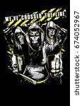 crime | Shutterstock .eps vector #674052967