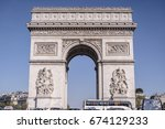 paris  france   may 14  2016 ... | Shutterstock . vector #674129233