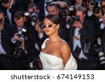 cannes  france   may 19  2017   ... | Shutterstock . vector #674149153
