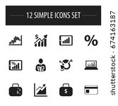 set of 12 editable logical...