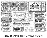 vector hand drawn illustration... | Shutterstock .eps vector #674164987