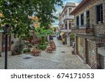 patras  greece   may 28  2015   ... | Shutterstock . vector #674171053