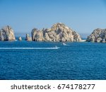 Dramatic Rock Formations At...