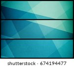 abstract geometric background... | Shutterstock . vector #674194477