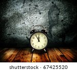 alarm clock on a background of...