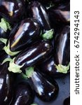 Small photo of Eggplant, also known as aubergine