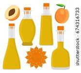 abstract vector illustration... | Shutterstock .eps vector #674316733
