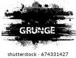 grunge banners  insignias... | Shutterstock .eps vector #674331427