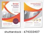 template vector design for... | Shutterstock .eps vector #674333407