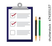 survey   checklist  ... | Shutterstock .eps vector #674355157