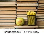 you will be healthy and smart... | Shutterstock . vector #674414857