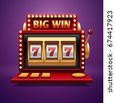 Jackpot Slot Casino Machine....