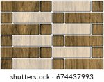 Abstract Home Decorative Brick...