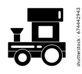 train toy icon | Shutterstock .eps vector #674442943