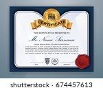 multipurpose modern... | Shutterstock .eps vector #674457613