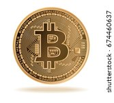 Bitcoin. Physical Bit Coin....