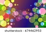 vector  abstract background... | Shutterstock .eps vector #674462953