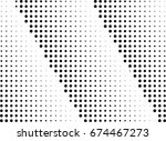 abstract halftone dotted... | Shutterstock .eps vector #674467273