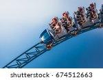 rust  germany   22 october 2013 ... | Shutterstock . vector #674512663