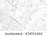 white marble luxury decor... | Shutterstock . vector #674521603