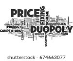 why are duopolies so... | Shutterstock .eps vector #674663077