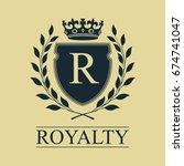 Coat Of Arms. Heraldic Royal...