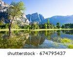 Reflection Of Yosemite...
