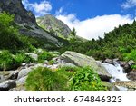 Landscape Of High Tatras ...