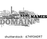 who registers domain names text ... | Shutterstock .eps vector #674934097