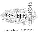 white gold charms text word... | Shutterstock .eps vector #674939017
