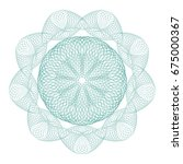 Guilloche Mandala . It Can Be...