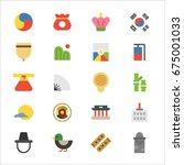 Korea Traditional Object Icons...
