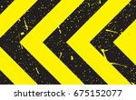 line yellow and black color...   Shutterstock .eps vector #675152077