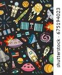 card vector template... | Shutterstock .eps vector #675194023