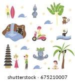 season background people... | Shutterstock .eps vector #675210007