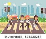 stock vector illustration... | Shutterstock .eps vector #675220267