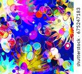 light elements like stylized... | Shutterstock .eps vector #675247183