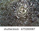 antique glass | Shutterstock . vector #675283087