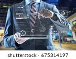 business. | Shutterstock . vector #675314197