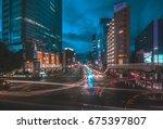 sendai  japan   september 8 ... | Shutterstock . vector #675397807