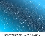 background image technology | Shutterstock .eps vector #675446047