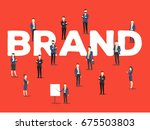 vector creative illustration of ... | Shutterstock .eps vector #675503803