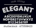 font.alphabet.script.typeface...   Shutterstock .eps vector #675508423