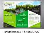 business brochure. flyer design....   Shutterstock .eps vector #675510727